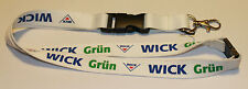 WICK Grün Schlüsselband Lanyard NEU (T225)