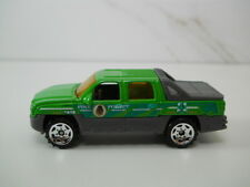 Matchbox Pine Forest Chevy Avalanche Green Paint VHTF 1/64 Scale JC36