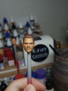 Mattel wwe wrestler Benoit custom head