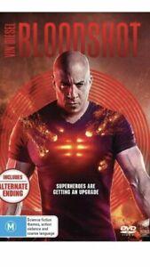 Bloodshot (DVD, 2020) Brand New Sealed Region 4