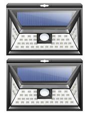 2 PCS RV 46 LED Solar Porch Motion Sensor Light camper RV trailer exterior B