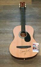 Sinead O'Connor signed Acoustic Guitar JSA COA