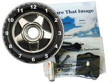 DIY CD Clock KIT. Car Tyre - Motorists Gift, Desk or Wall Clock