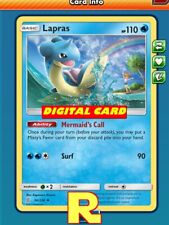 Lapras Playset (4x Misty) - for Pokemon TCG Online (ptcgo in Game Card)