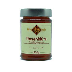 Marmelade Konfitüre Gelee von Streuobstwiesle Rosenblüte - 220 g