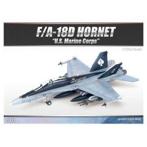 "Academy 12422 1/72 F/A 18D Hornet ""US Marines"" *AUS decal* Plastic Model Kit"