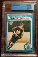 1979 O Pee Chee OPC #18 ROOKIE RC WAYNE GRETZKY BGS Au-  INCREDIBLE EYE APPEAL!