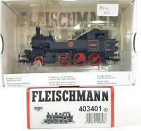 FLEISCHMANN 403401 HO - GERMAN 2-6-0 MOUNTAIN RACK TANK LOCOMOTIVE, DCC FITTED