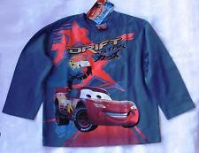 LANGARMSHIRT für  JUNGEN  Disney PIXAR CARS 104 GR IN BLAU