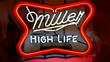 VINTAGE NEON MILLER HIGH LIFE SIGN ELECTRIC