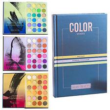 Pro 72 Colores Mate Paleta de Sombra de ojos maquillaje Kit cosmético Conjunto de Polvo de sombra de ojos