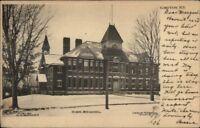 Groton NY High School c1905 Postcard