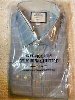 CHARLES TYRWHITT Classic Fit Non Iron Dress Shirt Sz 16.5 - 36