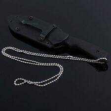 Feste Messer Taschenmesser Armee-Kunst-Rettungs-Säbel-W / Timberline Halskette