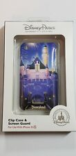 NIB Disney Parks iPhone 3 3S D-tech Disney Castle Clip Case and Screen Guard