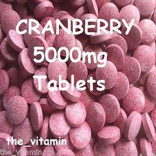 Arándano 5000 Mg 1000 Tabletas (1 o 2 por día) (l)