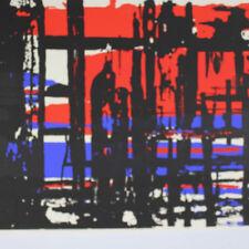 Neubauer Egon *1920 Siebdruck Plakat 1959 Ausstellung 1958/59 Dieter Brusberg