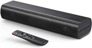 Soundbar Bluetooth 5.0 Lautsprecher für TV PC 2.0 Kanal 50Watt 3D Surround Sound