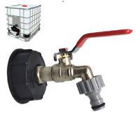 Regenwassertank Adapter Zubehör Für IBC Container Auslauf Regentonnen 1/2