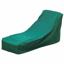 Alexander Rose Sunbed and Steamer Cover in green 1 meter long with ties FC9
