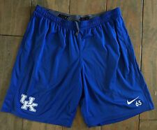 University Of Kentucky Blue Nike Dri-Fit Athletic Training Shorts #65 Men's XL