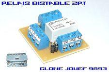 Platine relais électromécanique bistable - 2RT - Clone JOUEF 9893 / 931 / 9310