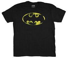 DC Comics Batman Shirt For Men Distressed Bat Signal Logo Graphic T-Shirt