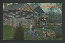 Industry Mills postcard McCormick's Mill, Steeles Tavern, Virginia VA