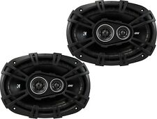 "KICKER 43DSC69304 CAR AUDIO STEREO 6X9""3-WAY DS SERIES COAXIAL SPEAKERS SET/PAIR"