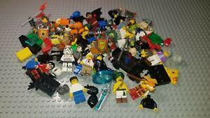 LEGO Bulk 1/2 Pound (8oz) Lot of Minifig Minifigures Parts & Pcs - Nice Variety