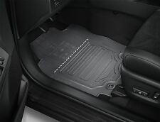 Genuine Toyota RAV 4 ibrido RHD 2015-TAPPETINI in GOMMA GRIGIO SCURO PW210-0R001-C0