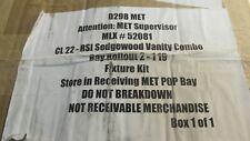 Vanity Bay Rollout Mlx52081 #52081 Cl22 Sedgewood Vanity Combo N3