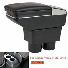 Armrest box For Nissan Sylphy Versa Tiida Latio 2007- 2011 Console Arm Rest