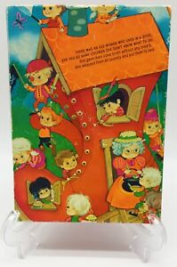 VINTAGE 1970 Springbok Children's Jigsaw Puzzle OLD WOMAN IN THE SHOE COMPLETE!
