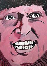 Tom Baker pintura por Neil Gaffney Doctor Who