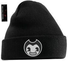 Bendy-and-The-Ink-Machine-Animation-Horror-Game-Inspired Embroidered Beanie Hat