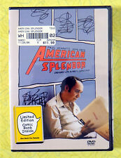 American Splendor ~ New DVD Movie ~ Paul Giamatti ~ Comic Book Sealed HBO Video