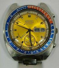 Seiko Pepsi 6139 6030 chronograph Automatic watch Tachymeter day date rare