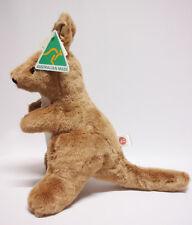 Australian Made soft toys animal Kangaroo Handmade Brown white Brand new 38cm