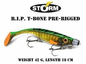 STORM R.I.P. T-BONE PRE-RIGGED , R.I.P MDS System weight 59 g length 18 cm