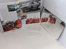 FIAT 124 SPORT COUPE DEL 72 -  TRASPARENTI FANALI ANTERIORI DX E SX BIANCHI