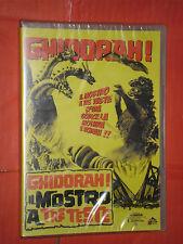 GHIDORAH- mostro a tre teste- DVD- film da collezione- (TIPO GODZILLA) sigillato