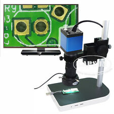 100X HDMI 1080P HD Digital Lab Industrial C-mount Microscope Camera System A30
