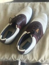 Footjoy Dry I.C.E White And Brown Golf Shoes Men 12 Foot joy