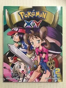 POKÉMON XY Vol2 2015 1st Printing Graphic Novel VGC Pokemon Kusaka Yamamoto BOOK