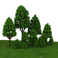 Mixed Scale Model Trees HO N O Scale Trees 12pcs/pack Garden Architecture Layout