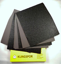 KLINGSPOR wet and dry sand paper sanding sandpaper mixed you choose