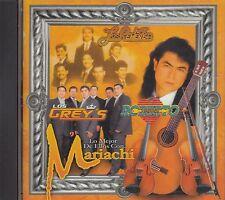 Los Rehenes Los Greys Roberto Verduzco Lo Mejor De Ellos Con Mariachi CD New