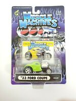 Muscle Machines 2002 Series 02-69 '33 Ford Coupe Green Funline