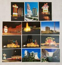 Las Vegas Unused Postcards Hotel Hoover Dam Club Casino Dunes Sands